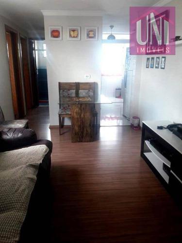 Imagem 1 de 10 de Apartamento Com 2 Dormitórios À Venda, 62 M² Por R$ 218.000 - Jardim Alvorada - Santo André/sp - Ap1679