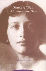 A La Espera De Dios, Simone Weil, Trotta