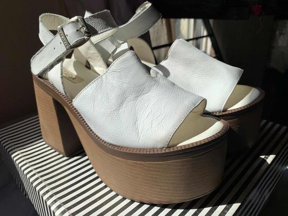 Zapatos Plataforma Nazaria Talle 37 Nuevos!