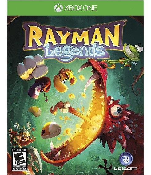 Rayman Legends Xbox One Mídia Física Lacrado