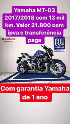 Yamaha Mt-03 Std