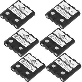 Kit 6 Baterias Para Radio Motorola Bp38 4,8v 700mah Aaa