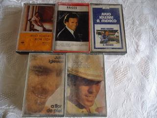 Cassettes Julio Iglesias.