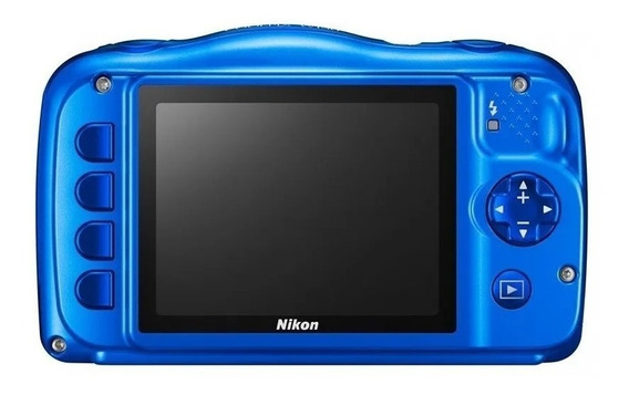 Camera Nikon Coolpix W150 Azul C/nf