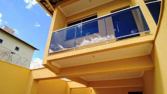 Casa Geminada Com 3 Quartos Para Comprar No Cândida Ferreira Em Contagem/mg - 48593