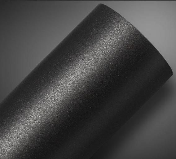 Adesivos Preto Fosco Rugoso Envelopamento De Carro 1m X 1,22