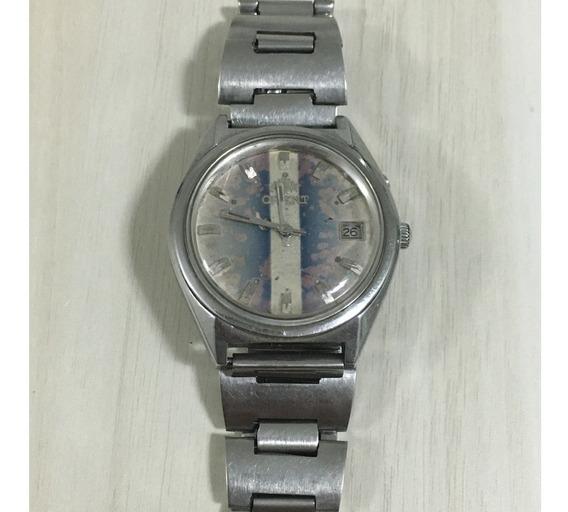 Relógio Orient Á Corda Manual Calibre 48320 Co.47