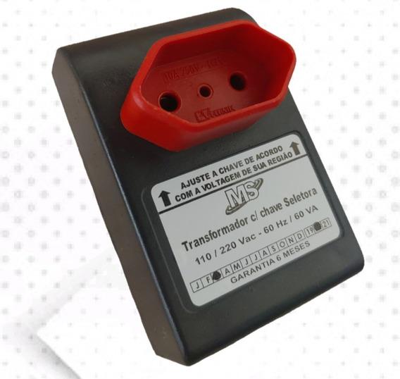 Auto Transformador Com Chave Seletora Conversor 110/220v