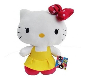 Pelúcia Hello Kitty - Sanrio - Dtc 33 Cm