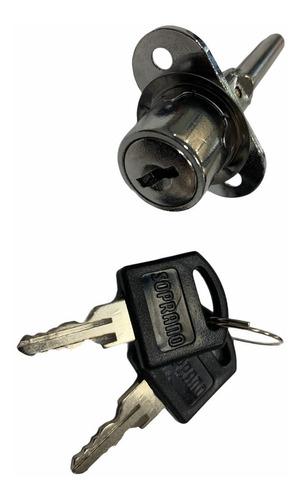 Imagen 1 de 4 de Cerradura Trabamiento Frontal 19mm Llave Estándar Soprano