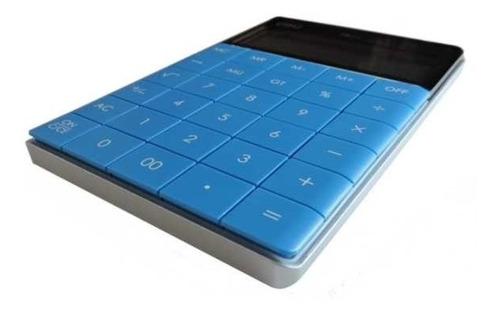 Imagen 1 de 4 de Calculadora De Escritorio | Deli Nº 1589 | Deli | Azul
