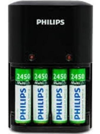 Carregador Philips De 4 Pilhas