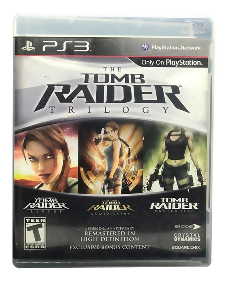Tomb Raider Ps3 Fisica Original Pronta Entrega Remasterizado