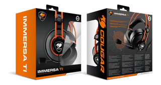 Diadema Gamer Cougar Immersa Ti 3.5mm