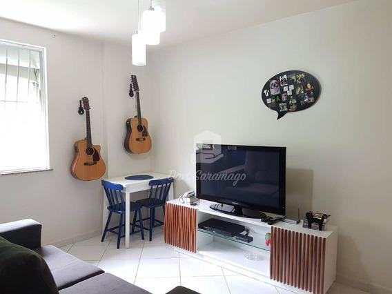 Apartamento Com 2 Dormitórios À Venda, 54 M² Por R$ 215.000,00 - Santa Rosa - Niterói/rj - Ap0117