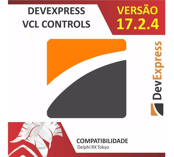 Devexpress Universal Vcl 17.2.4 Delphi10.2 Tokyo Fonte Compl