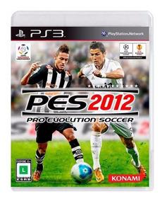 Pro Evolution Soccer 2012 Pes 12 Ps3 + Midia Fisica Original