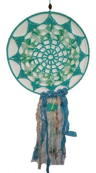 Atrapasueños Crochet Grandes Atrapasueño Mandala Artesanal