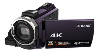 Andoer 4k 1080p 48mp Wifi Cámara De Video Digital Grabadora