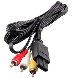 Cable Av Audio Video Snes N64 Game Cube