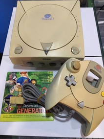 Dreamcast Americano + Controle + A/v E Garantia! Fratelo