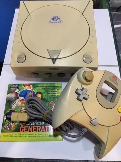 Dreamcast Americano + Sem Leitor