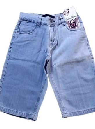 Queima De Estoque Bermuda Jeans Brim Adulto Tamanho 34 Ao 50