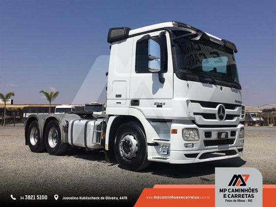Caminhão Mercedes- Benz Mb 2546 Ls Actros 2013 Top.