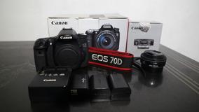 Canon 70d + Lente 24mm - Pra Vender Logo !!