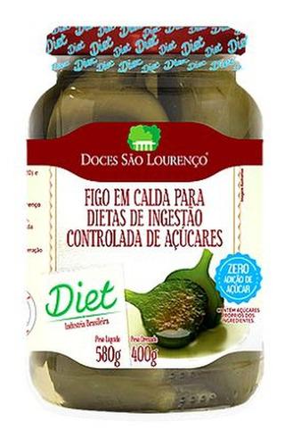 Imagem 1 de 1 de Figo Em Calda Diet São Lourenço 400g