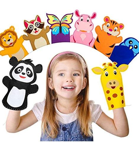 Imagen 1 de 6 de Kits De Marionetas De Fieltro Para Niños