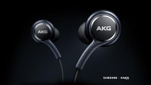 Fone Samsung Galaxy S8 Original Akg +4 Borrachas Extras Novo