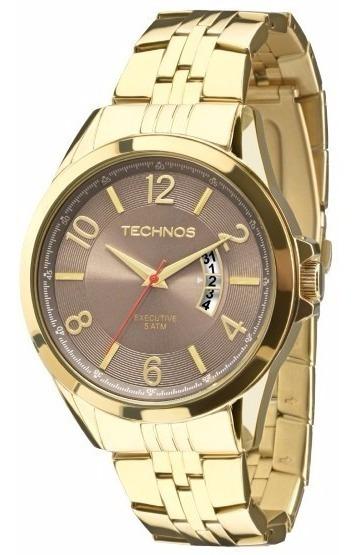 Relógio Technos Masculino Executive 2115kth/4m Dourado