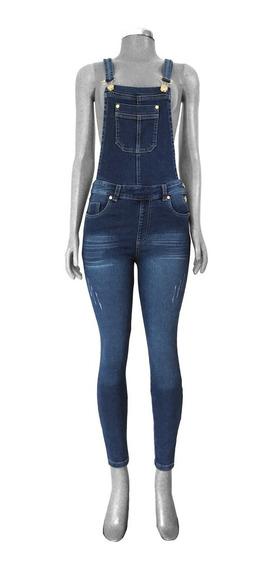Overol Jeans Navy Mezclilla Jumper Peto Body Suit Jumpsuit