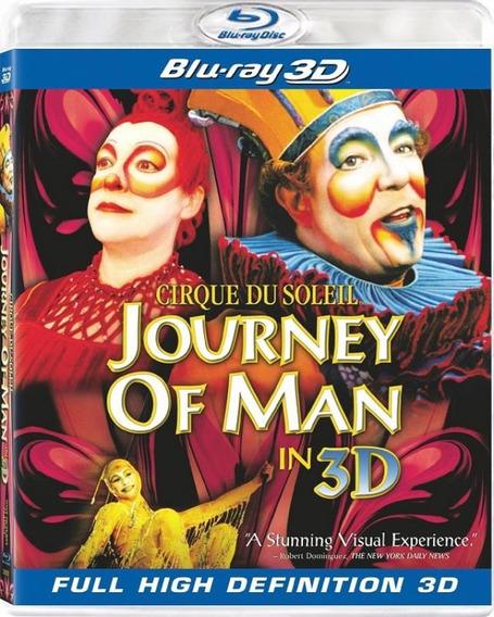 Cirque Du Soleil Journey Of Man - Blu-ray 3d Ação