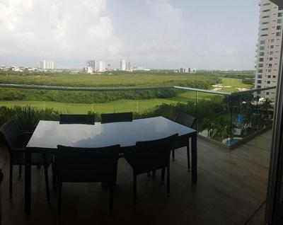 Departamento En Venta En Sky, Puerto Cancun.