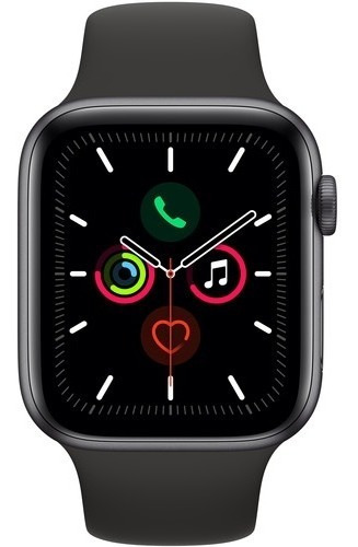 Apple Watch Serie 5 44mm Gps- Lacrado Na Caixa+case Brinde