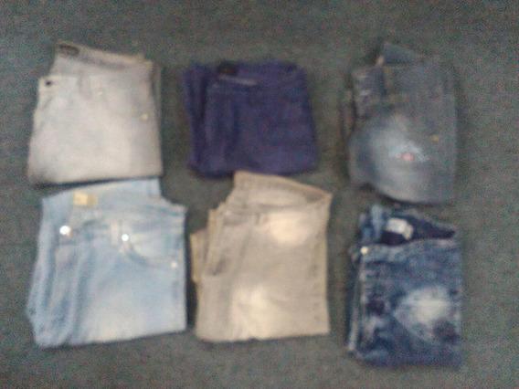Lote De Jeans De Mujer Varios Talles
