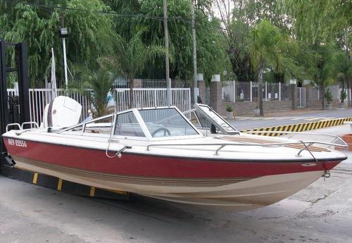 Lancha Usada Regnicoli R490 Motor Johnson 140 Hp