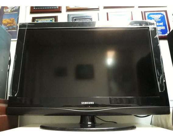Tv Samsung Led 32 Pulg Como Nuevo Control+base Pared