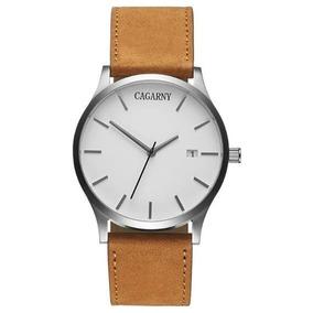 Relógio Cagarny Masculino Luxo Estiloso