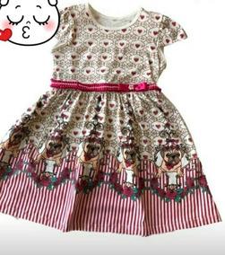 Kit Com 2 Vestidos Femininos Infantis