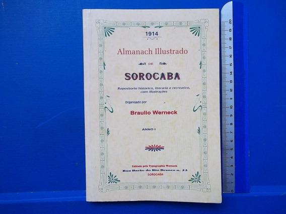 Livro Almanach Illustrado De Sorocaba Braulio Werneck Ano 1