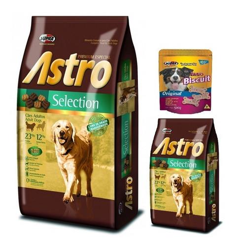 Imagen 1 de 2 de Comida Perro Astro Selection 15k + 2k Con Regalo