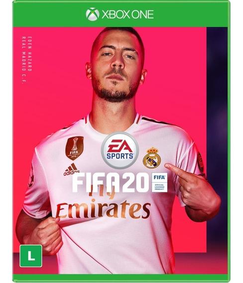 Jogo Fifa 20 Xbox One Disco Fisico Português Futebol Br 2020