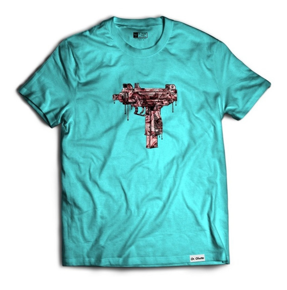 Camiseta Camisa Uzi Metralhadora Uzi Machine Gun