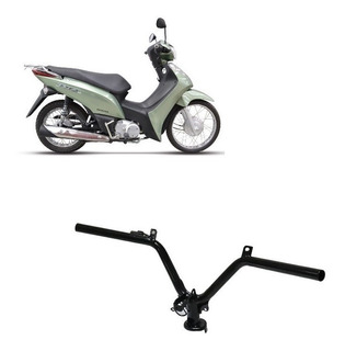 Guidão Honda Biz Ex 2011 A 2017 Modelo Original Preto