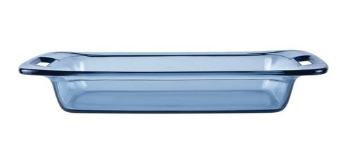 Refractaria Rectangular Porta Comida Atlantic Blue 2,8lt
