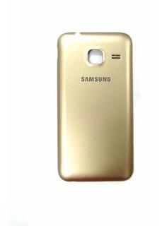 Tampa Traseira Samsung Galaxy J105 J1 Mini Dourada Preta