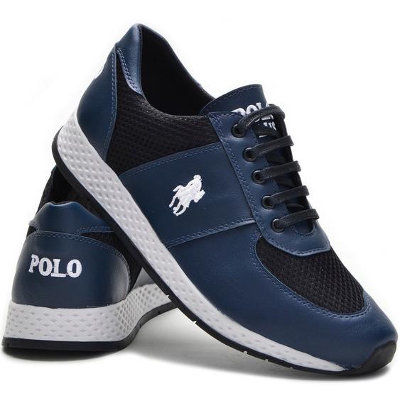 Tênis Jogging Polo Plus Lançamento Pronta Entrega